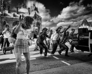Brazilian Tailgate Street Dancers